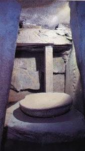Stone Bowl inside Newgrange