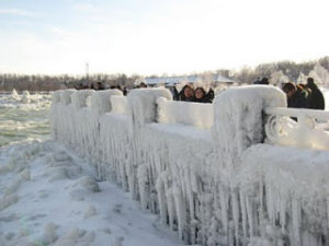 Ice at Niagara Falls