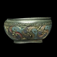 Roman souvenir The Staffordshire Moorlands bowl