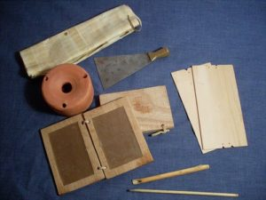 Reproduction Wax Tablet Kit
