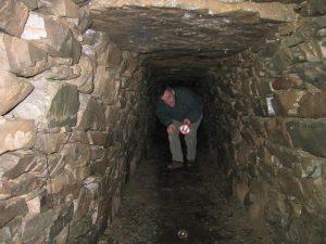Inside a souterrain