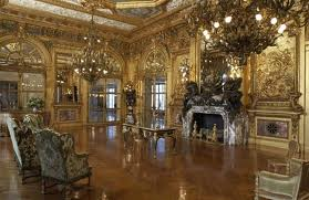 The Gold Room at the Marble House