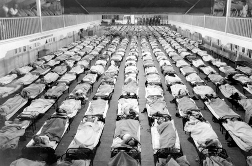 One Word For The 1918 Pandemic Flu – Horrifying